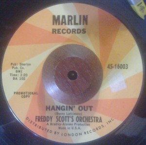 Freddy Scott's Orchestra - Hangin' Out