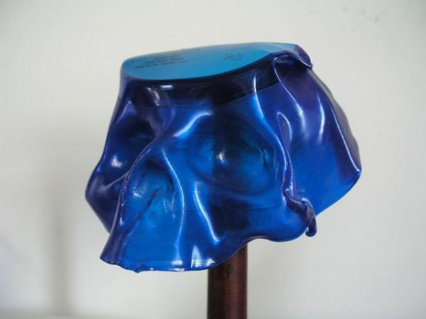 Vinyl Skull blue