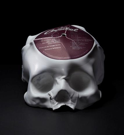 Vinyl Skull 02 Ted Riederer