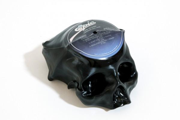Vinyl Skull Ted Riederer