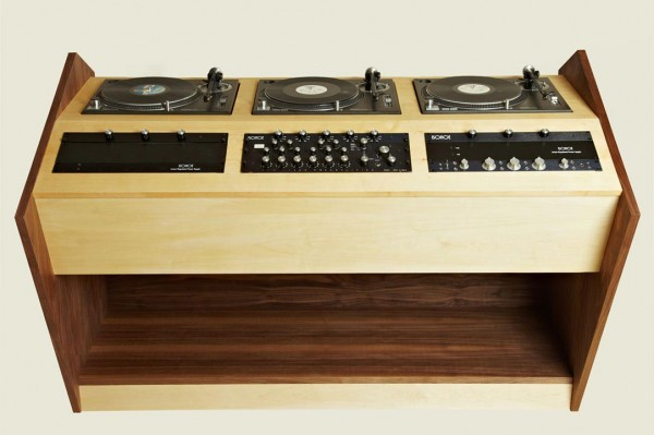 Bad Habits Three Deck DJ Console
