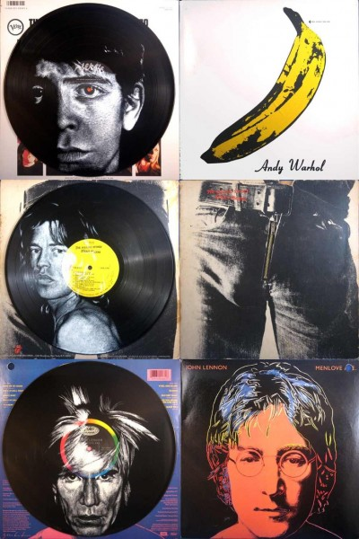 Vinylart Andy Warhole Collection