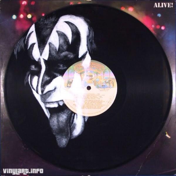 Vinylart Gene Simmons KISS