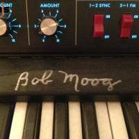 Moog Voyager in the studio of GK Machine