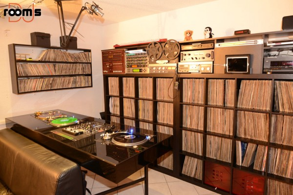 Dj Rooms Vinyl Art Living Rooms Studios Collections