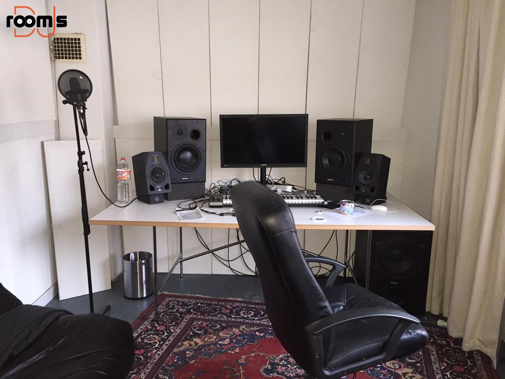 Keinemusik Studio tour 07